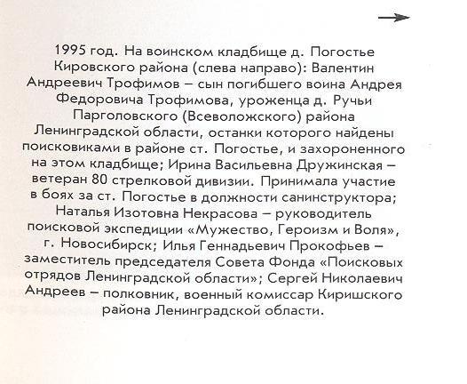 Пояснения к фото Погостье 1995